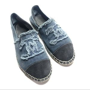 Chanel denim espadrilles size 40